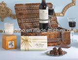 Duftende Sojabohnenöl-Wachs-Luxuxkerze im Glasglas mit Geschenk-Kasten
