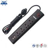 Enchufe de socket eléctrico de la protección de la oleada de potencia de las maneras del universal 5
