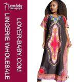 Vestido tradicional africana de Dashiki para Lady (L28064)