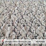 Tela de nylon do laço do algodão da venda quente para o vestuário (M3063)