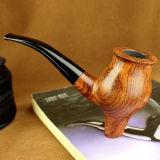 Pipe de tabac exclusive en bois découpée par main/pipe de fumage de pipes