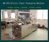 Machine de conditionnement et d'emballage en papier stationnaire