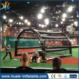 Cage gonflable de jeu chaud de sports pour la formation de base-ball avec le réseau