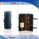 Faltbarer lederner kundenspezifischer beweglicher Wein-Träger PU-2016 (6045R1)