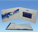 Выдвиженческий подарок 2016 поздравительная открытка Handmade бумаги LCD 4.3 дюймов видео-