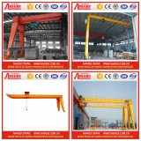 경험 15 년 Production Manufacture Semi Gantry Crane