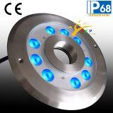 Indicatore luminoso subacqueo dell'acciaio inossidabile IP68 LED per la fontana (JP94292)