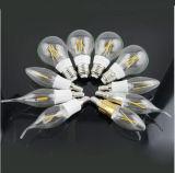 Lámpara de filamento antigua de la alta calidad 6W 85-265V A60 LED