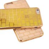 Galvanizar a caixa do telefone de pilha do jade TPU para LG G5 (XSDD-009)