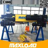 Double élévateur électrique de câble métallique de poutre de 12.5 tonnes (MLER12.5-06D)