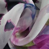 Long personalizzato Scarf con Silk Fabric