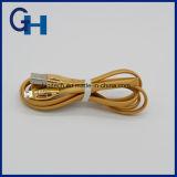 2016 Higi Nueva llegada del USB de oro super velocidad 1m todo en un cable de datos para el iPhone 5 6 Andriod