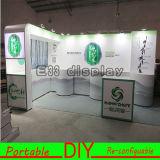 Modular de aluminio reutilizable y versátil Feria de Material de la cabina de Soporte de la exposición