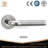 Полая круглая трубчатая ручка двери нержавеющей стали Ss304/201 без угла (S5030/S01)