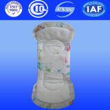 Serviette respirable de 155 de millimètre Panty de distribution de produit de consommation quotidienne garnitures sanitaires de doublure