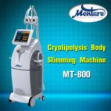 Corpo de 4 Handpieces Cryolipolysis que Slimming a máquina da perda de peso