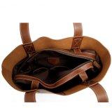 Echtes Leder-Frauen-preiswertester Entwurf Oberseite-Handhaben Handtasche (RS-6015)