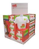 Коробка индикации паллета картона бумаги печатание шаржа