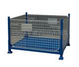 Supporto d'impilamento pieghevole pieghevole della rete metallica