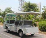 中国からのセリウムの証明書との販売Dn8fのための電気8つのシートの電気シャトルバス
