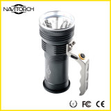 Lumière portative de longue durée résistante tenue dans la main du temps IP-X6 DEL de l'eau (NK-855)