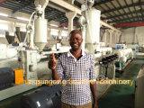 Ligne en plastique d'extrusion de pipe de PE de HDPE de bonne performance