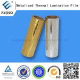 Película metalizada prata para a estratificação de papel