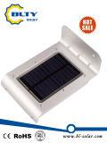 Solar al aire libre de luz LED de jardín con sensor de movimiento