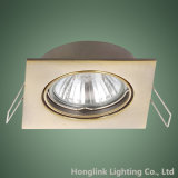 3W Adjustable GU10 MR16 СИД Square Recessed Ceiling Downlight Holder