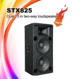 """Stx825は15 """"プロ可聴周波サウンド・システムのスピーカーボックス二倍になる"""