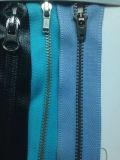 Zipper de bronze do estilo do vintage para acessórios das sapatas