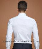 Katoenen van de Koker van de Mensen van de hoogste-kwaliteit Lange Slanke Van de Bedrijfs manier Overhemden