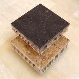 Panneaux de revêtement composés de mur de nid d'abeilles en pierre