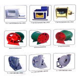 (HTFC-II) Ventiladores centrífugos curvados para diante do OEM