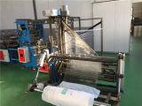 Saco liso quente usado de película plástica da tela da venda que dá forma à máquina