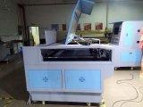 Laser 조각 기계 큰 아크릴 가죽 직물 의류 Laser 절단기 절단 침대의 상표