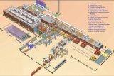 Système de empilement robotique complètement automatique pour la chaîne de production de brique d'argile