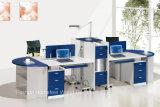 Stazione di lavoro di funzionamento della call center dello scrittorio del personale di Partitiion dell'ufficio di 4 Seater (HF-YTQ010)