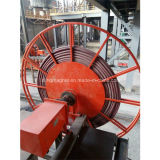 Tipo carretel do motor de cabo de aço para o cabo distribuidor de corrente no guindaste