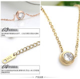ステンレス製のSteel Jewelry Fashion Pendant Necklace (hdx1022)