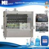 Máquina de rellenar líquida detergente automática de 4 pistas
