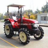 Trator novo chinês pequeno da roda do tipo com o motor de 40 quilowatts