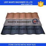 Tuile de toit enduite en pierre facile en métal d'Installationterracotta