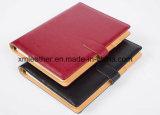 Diario personnalisé professionnel Journal en cuir rouge