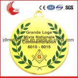 Medaglia di oro della concorrenza di 10 di anno di esperienze sport dei prodotti con il nastro