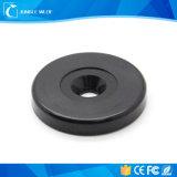 Tag RFID imperméable à l'eau de fréquence ultra-haute de rond pour les points et le management de patrouille