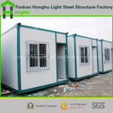 Huis van de Container van lage Kosten het Prefab Modulaire Moderne voor Verkoop