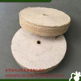 Полируя колесо металла валика для шерохования сизаля ткани инструментов полируя