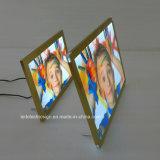 Caja ligera de aluminio ultrafina del punto culminante LED del marco