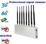 8 WiFi 3G 4G GM/M Signal Jammer des bandes 15W GPS